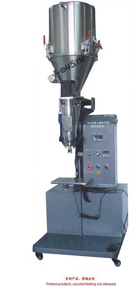 Полуавтоматическая линия YDX-06TS для полуавтоматической фасовки тонера в открытую тару (Китай)