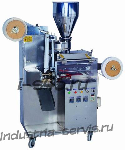 автомат фасовки и упаковки чая или трав в однокамерный фильтр пакет