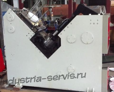 ZDJ-400М Механический автомат для изготовления картонных тарелок