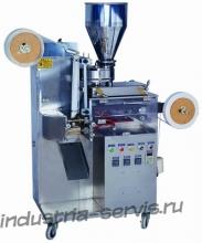 Автомат для фасовки и упаковки чая в одноразовые фильтр пакеты с ниткой, ярлыком ZB-KT60I