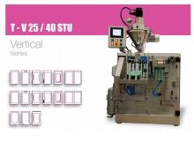 Автомат для наполнения и закрывания стоячих пакетов