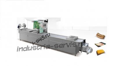 DLZ Автоматический вакуумный упаковщик в гибкую термоформируемую упаковку