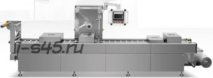 Автоматический скин упаковщик трейсилер для продуктов питания