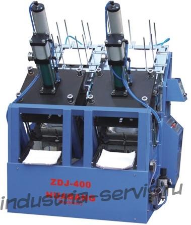 ZDJ-400 Среднескоростоной автомат для изготовления картонных тарелок