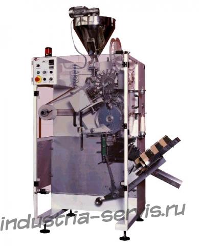 Автомат для упаковки чая в однокамерные фильтр-пакеты с ниткой и ярлычком (Чехия)
