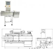 Контрольно-динамические весы модель SG-150H автоматический чеквейер