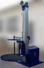 ZV-11E - машина для оборачивания наполненных паллет стрейч пленкой